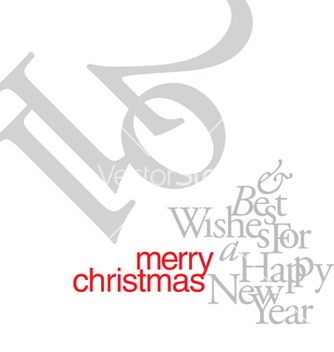 Free christmas card vector - бесплатный vector #267867