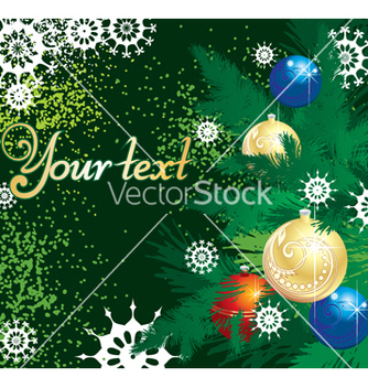 Free winter background vector - vector #268117 gratis
