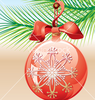 Free christmas ball vector - Free vector #268177
