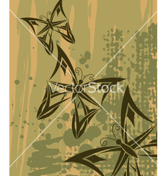 Free butterflies background vector - vector gratuit #268187