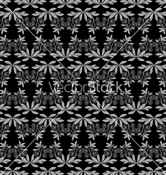 Free floral seamless background vector - бесплатный vector #268307