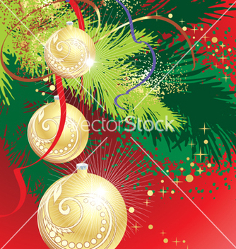 Free xmas background vector - бесплатный vector #268377