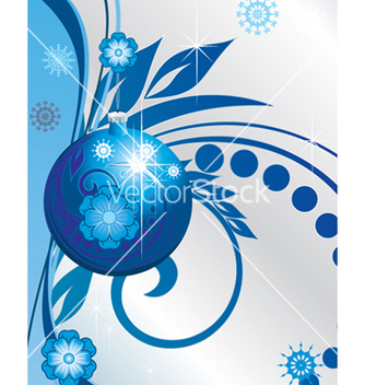 Free winter background vector - vector #268427 gratis