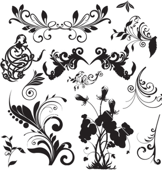 Free nature elements vector - Kostenloses vector #268527