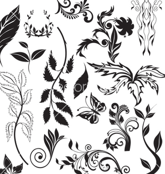 Free nature elements vector - vector #268617 gratis