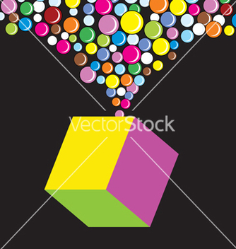 Free cube pop vector - Free vector #268627