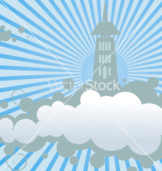 Free cloud land vector - Free vector #268737