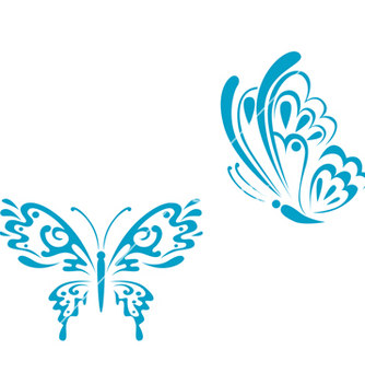 Free butterfly tattoo vector - Free vector #268837
