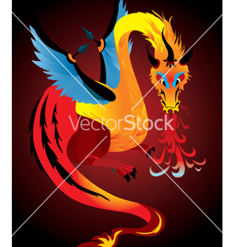 Free dragon vector - Free vector #268917