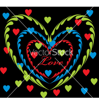 Free love graphic vector - vector gratuit #268947