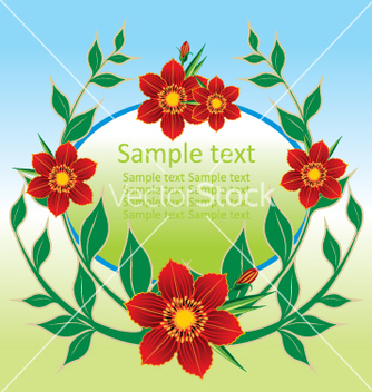 Free floral background vector - Free vector #269007