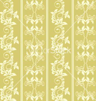 Free floral seamless background vector - бесплатный vector #269167