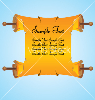 Free scroll vector - vector #269207 gratis