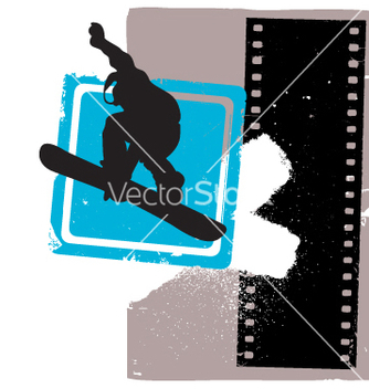 Free snowboarder vector - Free vector #269237