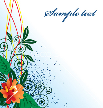 Free floral vector - Free vector #269317