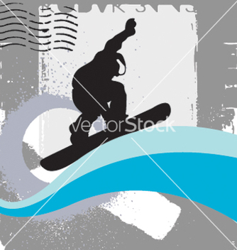Free snowboarder vector - Free vector #269397