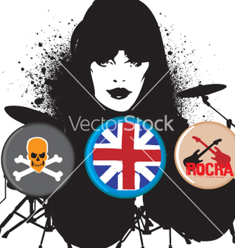 Free british rocker vector - бесплатный vector #269447