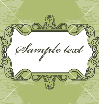 Free vintage frame vector - Free vector #269457