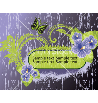 Free floral elements vector - Free vector #269527