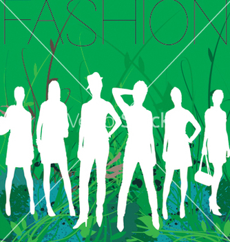 Free spring fashion vector - Free vector #269567