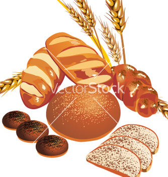 Free baked goods vector - Free vector #269767