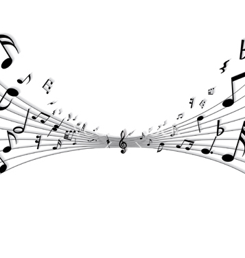 Free musical notes vector - Free vector #269837