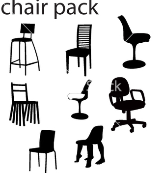 Free chairs vector - бесплатный vector #270007