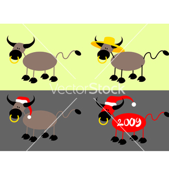 Free simple bull vector - vector gratuit #270047