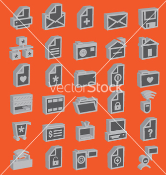 Free web icons 3d vector - бесплатный vector #270157