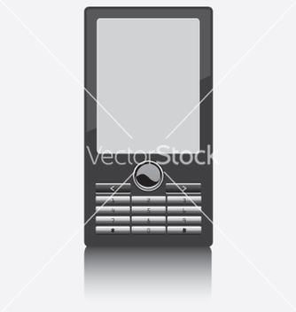Free cell phone vector - vector #270307 gratis