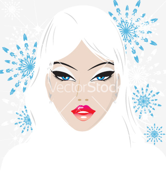 Free winter babe vector - Free vector #270477