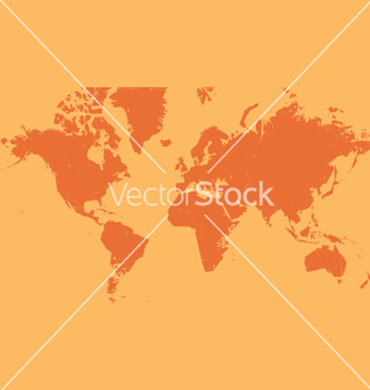 Free world map grunge vector - Free vector #270507