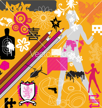 Free graphic funk vector - бесплатный vector #270597