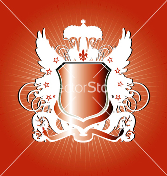 Free heraldry shield vector - бесплатный vector #270687