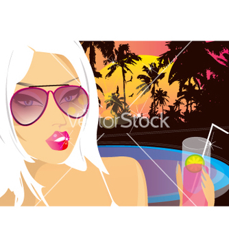 Free summer nights chill vector - vector gratuit #270707