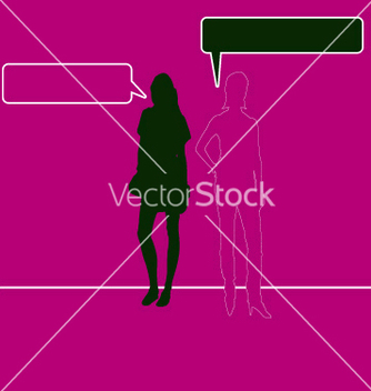Free woman talking vector - бесплатный vector #270817