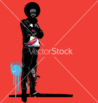 Free urban afro vector - Free vector #270957