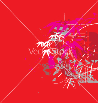 Free tropical jungle red vector - vector gratuit #271007
