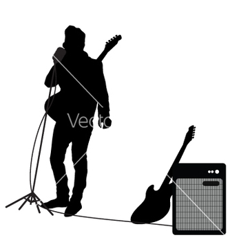 Free rocker at mic vector - vector gratuit #271117