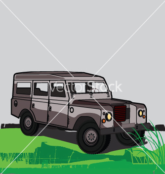 Free land rover vector - бесплатный vector #271207