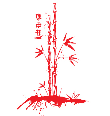 Free ink bamboo vector - Free vector #271267