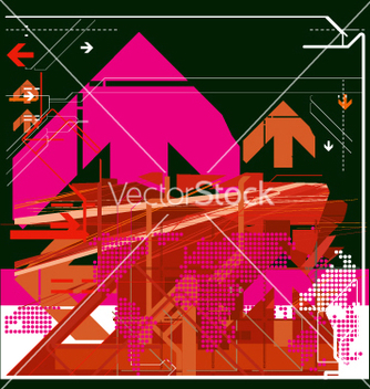 Free high tech background vector - vector #271297 gratis