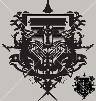 Free coat of arms vector - vector gratuit #271467