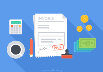 Free Vector Invoice Concept - Free vector #272367