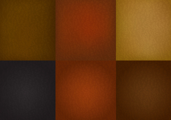 Vector Leather Background - vector gratuit #272437