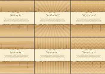 Burned Vector Templates - vector gratuit #272667