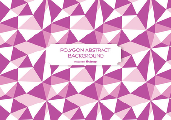 Abstract Polygon Background Illustration - Free vector #272677
