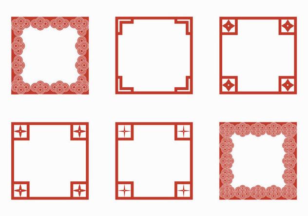 Free Japanese Border Vector Illustration Free Vector Download