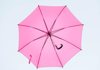Pink umbrella hanging - бесплатный image #273067