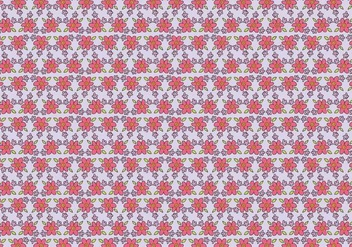 Free Girly Pattern Vector Background - бесплатный vector #273257